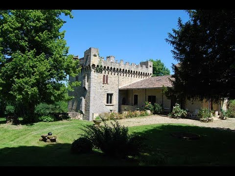 Unique Listed French Templar's Mill for sale - Gironde.