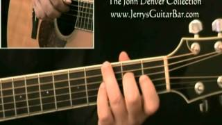 How To Play John Denver I