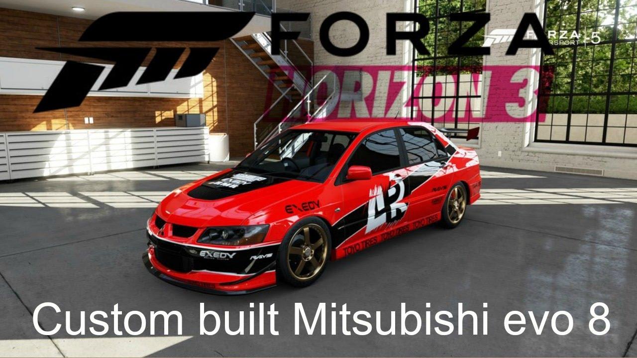 custom built mitsubishi lancer evolution viii mr - Mitsubishi Lancer Custom