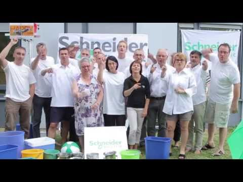 ICE Bucket Agence Schneider Electric de Tours (France)