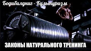 ПРАВИЛА НАТУРАЛЬНОГО ТРЕНИНГА от HeavyMetalGYM