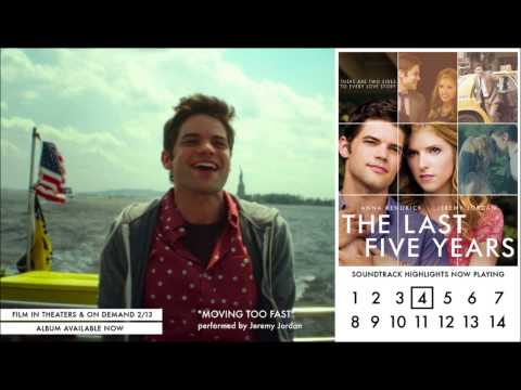 Jeremy Jordan - Moving Too Fast (Audio Video) - The Last Five Years