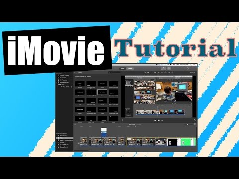 how to add title on imovie