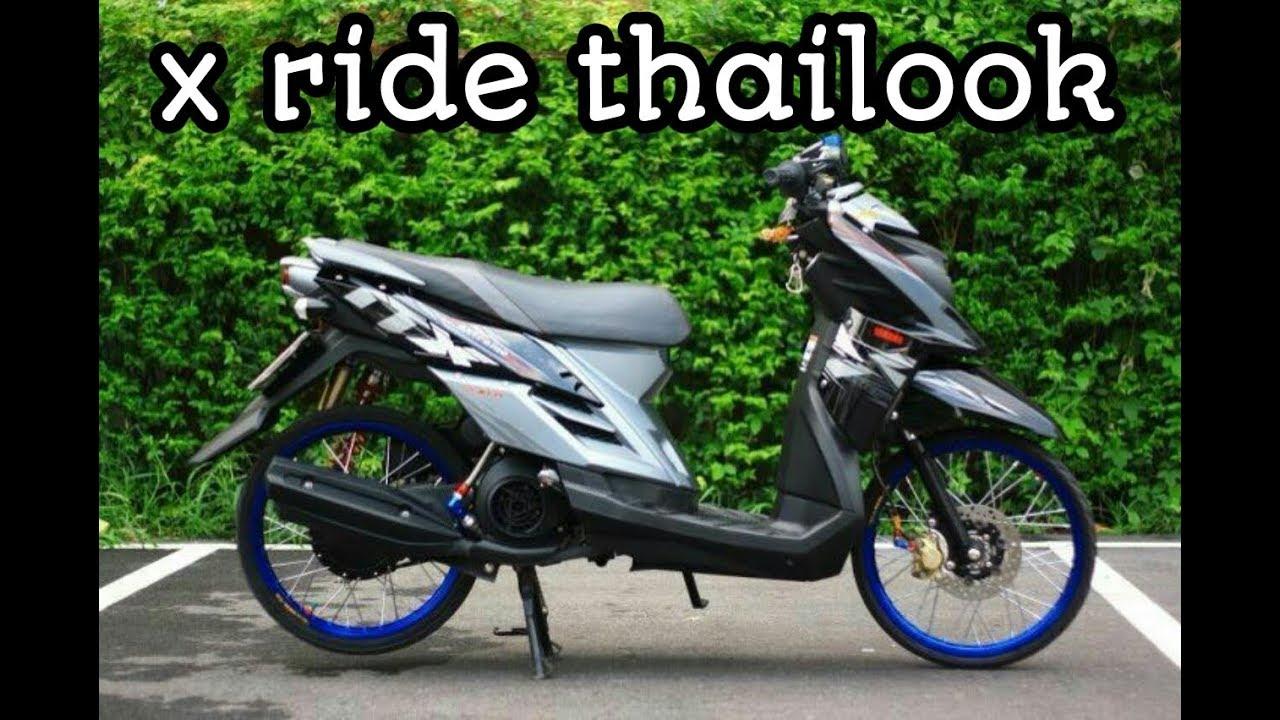 Modifikasi X Ride 2016 Palembang Racikan Jitu Semangat Thailook