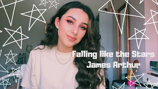 Falling Like The Stars - James Arthur Cover By Aiyana K
