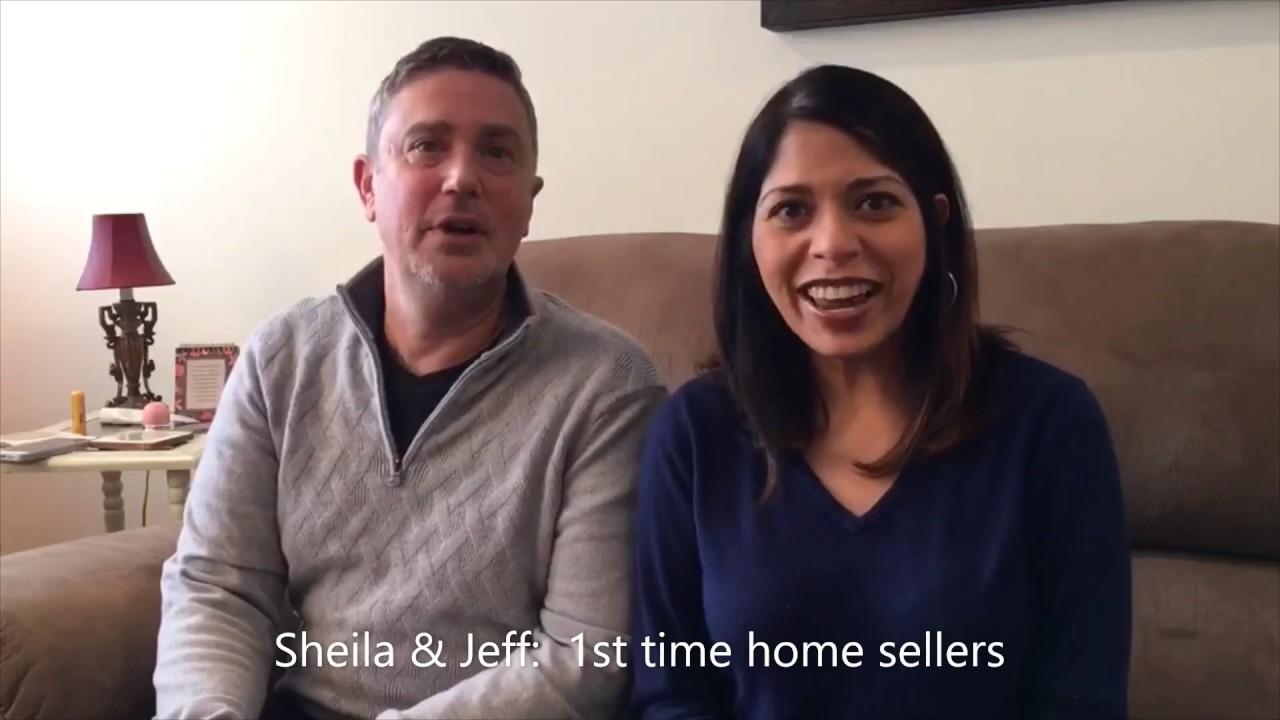 Sheila & Jeff - 1st time home sellers