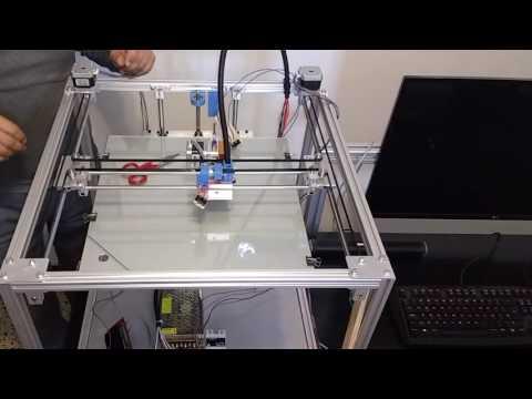 Construcción Impresora 3D H-Bot (8)