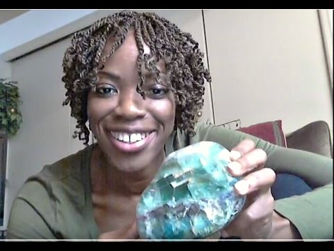 Fluorite Crystal: Aligns Heart & Mind| Mental Focus,Clarity & Memory|EMF