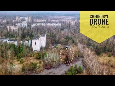 Chernobyl Drone Tour 2019 - YouTube