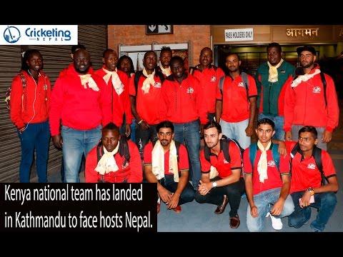 Kenya national team in Nepal