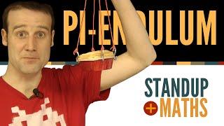 Calculating pi with a pendulum