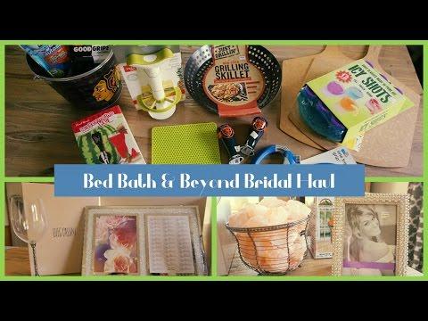 Bed Bath Beyond Bridal Completion Event - Ideas for Bridal Registry