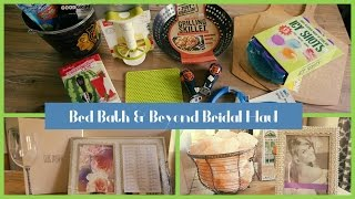 Bed Bath Beyond Bridal Completion Event - Ideas for Bridal Registry