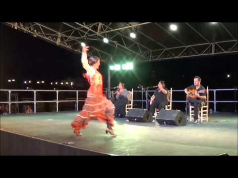 Mathilde Antón - Baile por Cantiñas, 2015.