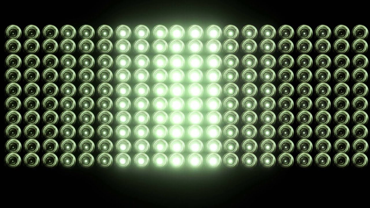 Smaller flashing light wall with bulbs free hd vfx footage youtube aloadofball Gallery