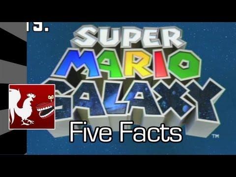 Five Facts - Super Mario Galaxy | Rooster Teeth
