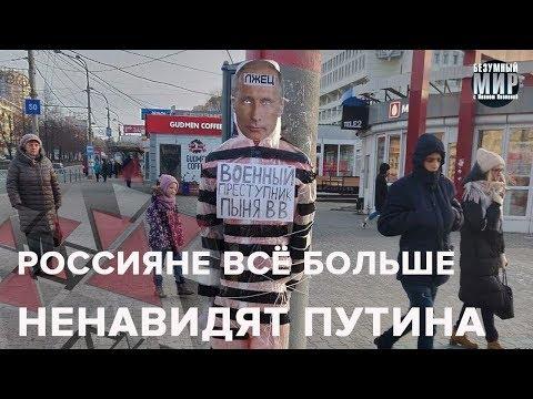 Чучело Путина в Перми, Безумный мир