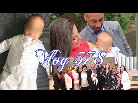 Taufe Von Baby Lias L Kirche Essen Feier Outfit Feedback über 150 Gäste L Vlog 578
