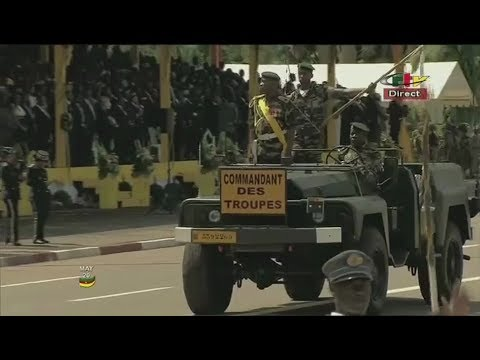 45ième FÊTE NATIONALE DU CAMEROUN  - MILITARY PARADE - Saturday 20th May 2017