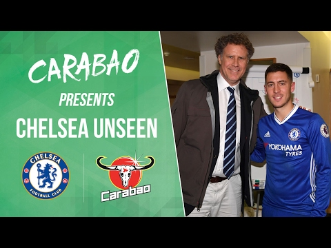 CHELSEA UNSEEN: A visit from Will Ferrell,  Drogba returns and Costa shows off his dance moves