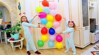 Surprize sau Ghicitori   Usa din Baloane   Video pentru Copii