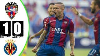 Леванте Вильярреал 1 0 Обзор Матча 1 4 Финала Кубок Испании 03 02 2021 HD