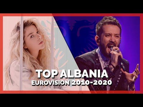 Eurovision ALBANIA (2010-2020)   My Top 11
