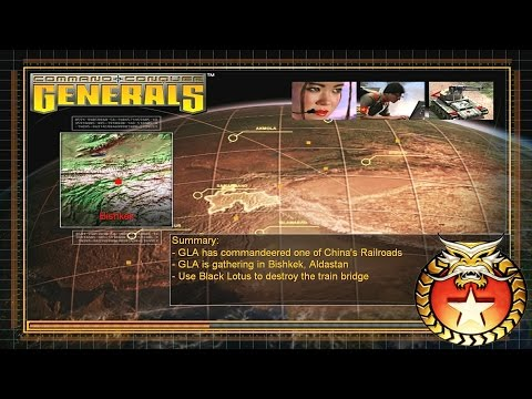 Command & Conquer : Generals - China Mission 6 (Brutal)
