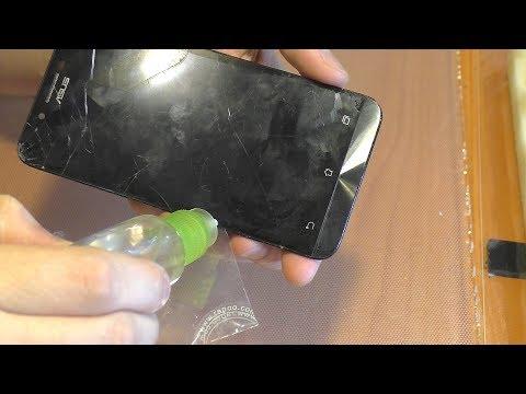 ЭЛЕМЕНТАРНОЕ. Замена разбитого дисплейного модуля смартфона Asus ZC500TG