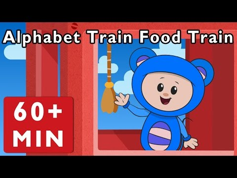 Alphabet Train Food Train and More |...