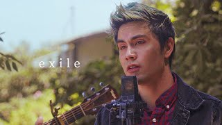 """exile (Taylor Swift feat. B๐n Iver) from """"folklore"""" - Sam Tsui Acoustic Cover"""