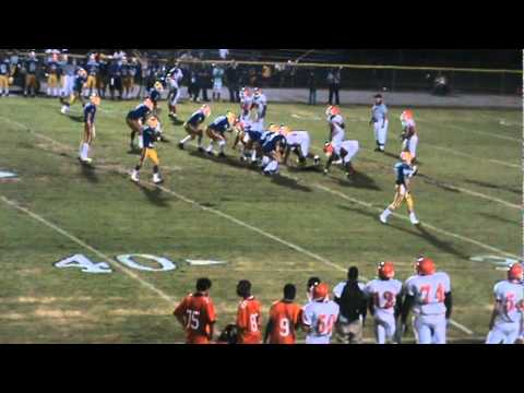 Tyquez Young 2011 Football highlights Timmonsville High School C/O 2014  B-Back OLB