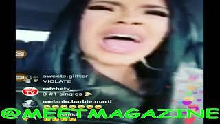 Cardi B fight vs TMZ over FAKE Nicki Minaj beef article! #Bardi wants to protect Kulture from media!