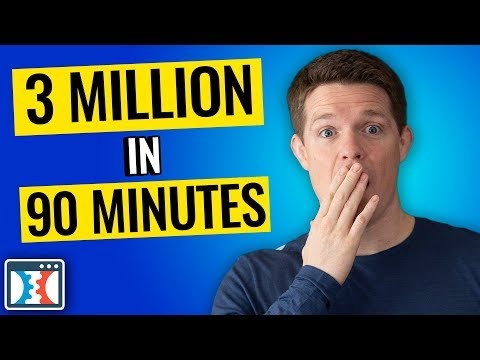 How I Made 3 Million Dollars In 90 Minutes...