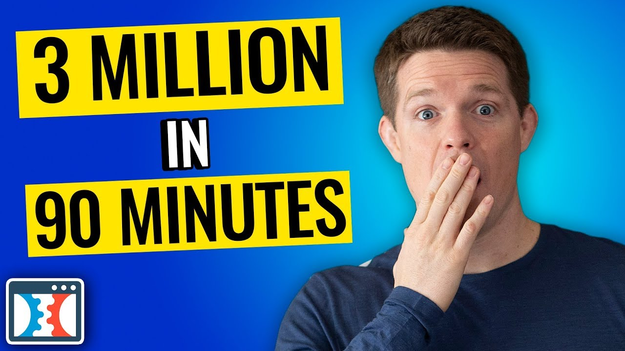 How I Made 3 Million Dollars In 90 Minutes At Grant Condone's 10x Growth Con Event
