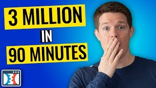 How I Made 3 Million Dollars In 90 Minutes At Grant Condone