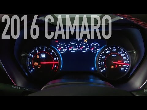 ► 2016 Chevrolet Camaro - Engine Sound