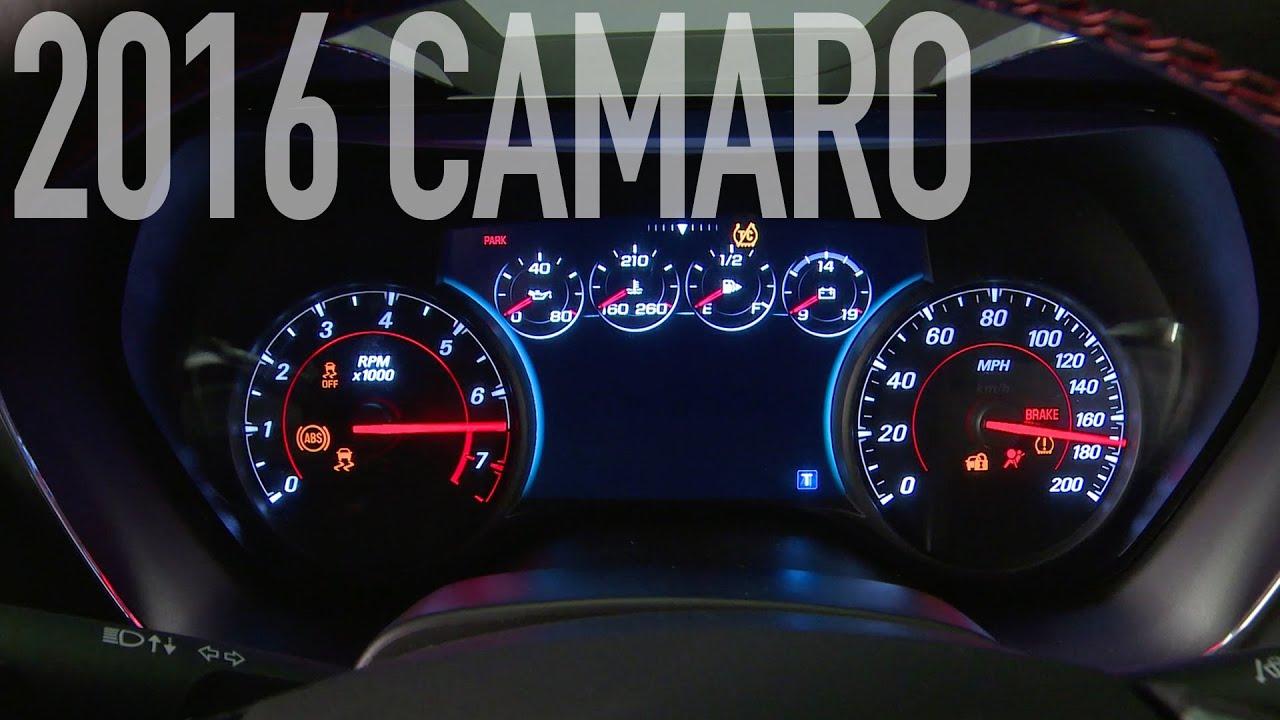 2016 Chevrolet Camaro Engine Sound Youtube