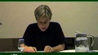Judith Butler. Trauma and Holocaust. 2006