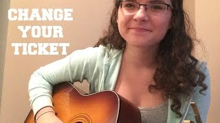 change your ticket - one direction (cover)