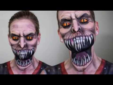 Trucco Halloween uomo - YouTube