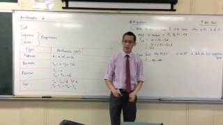 Arithmetic Progressions (1 of 2: Simple AP Questions)