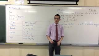 Arithmetic Progressions (1 of 2: Simple AP Questions)