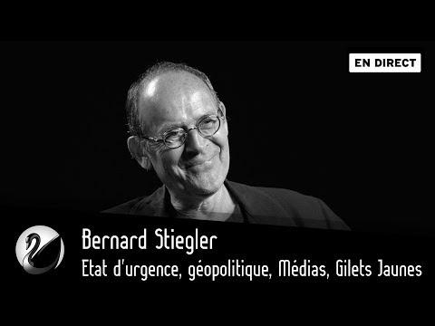 Bernard Stiegler : Etat d'urgence, géopolitique, Médias, Gilets Jaunes [EN DIRECT]