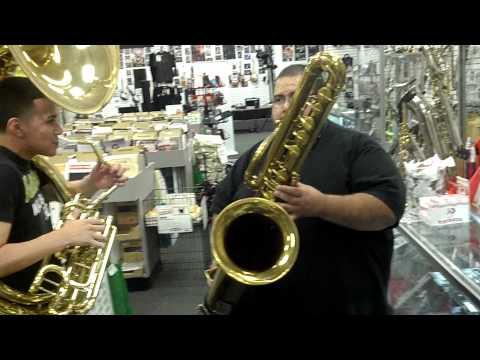 Bass Sax Chicago Tamborazo Tuba Style