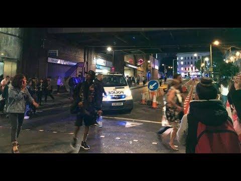 London Bridge Attack, Gunfire, Vehicle, Raw Video From ...