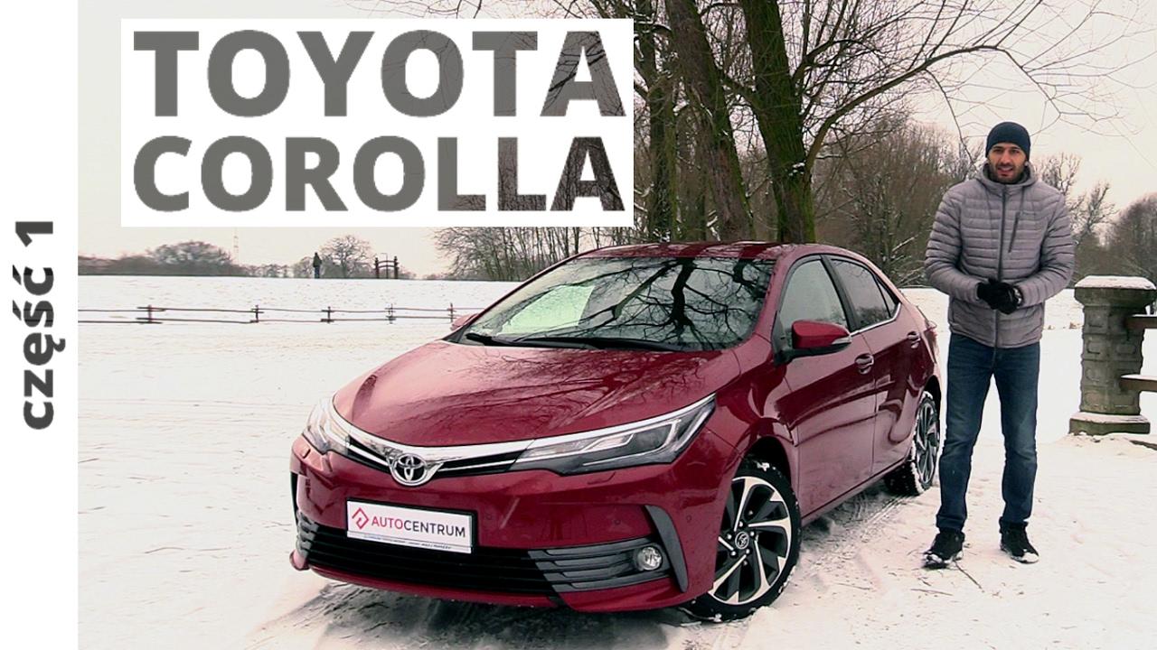 Toyota Corolla 1.6 Valvematic 132 KM, 2017 - test AutoCentrum.pl #313