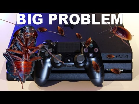 Cockroach PS4 Number 1 Console Infestation? PS4 Roaches BIG PROBLEM