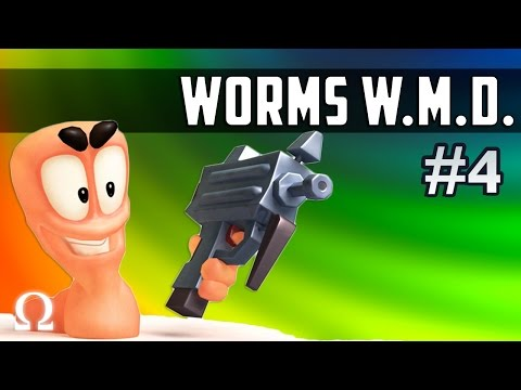 CRAZY LAUNCH, TURRET SURPRISE! | Worms W.M.D. #4 Ft. Cartoon