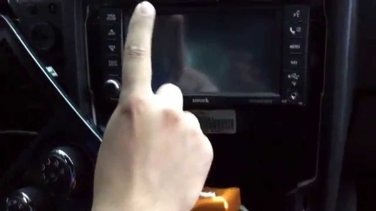 How-To Replace OE Stereo to a OE Nav Touchscreen (RER) 2011-2014 Dodge  Challenger (SE,SXT,RT,SRT8)